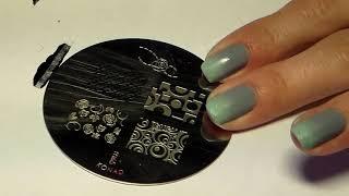 Видеоурок дизайна ногтей - стемпинг и градиент(Другие мои фото и видеоуроки вы можете найти на сайте: http://www.nanogtyah.ru., 2013-07-17T17:50:47.000Z)