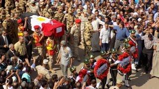 أخبار اليوم | البحيرة تودع الشهيد رامي حسانين قائد كتيبة 103 صاعقة في جنازة عسكرية وشعبية مهيبة