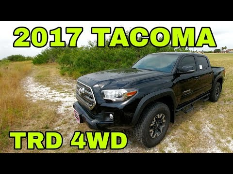2017 Toyota Tacoma TRD! Full Review! Part 2