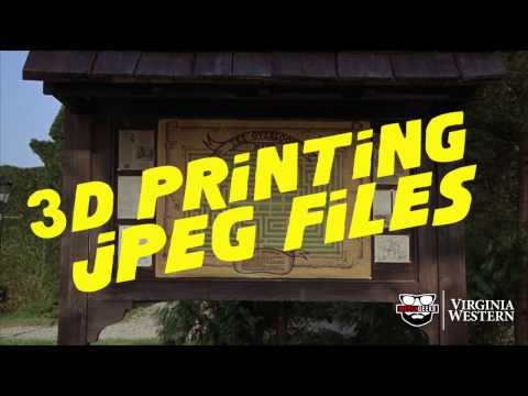 How to 3D Print JPEG's