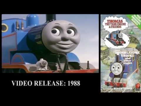 Thomas The Tank Engine - Gondarth's VHS/DVD Collection (PART 1 OF 6)
