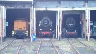 Eisenbahnmuseum Falkenberg oberer Bahnhof Teil 1. 06. September 2015