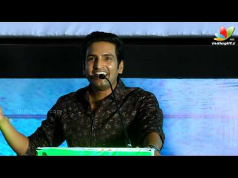 Santhanam Comedy Speech At Inimey  Ippadithaan Audio Launch