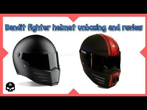 Bandit Fighter helmet review and motovlog setup