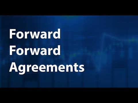 Forward forward agreements: explanation, example, and calcualtion
