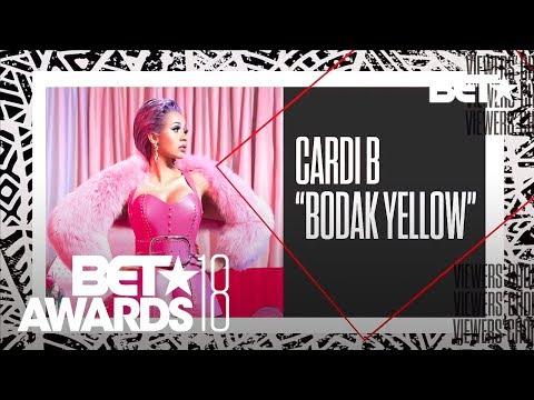 Cardi B. Wins The Coca-Cola Viewers Choice Award! | BET Awards 2018