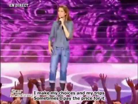 Celine Dion Je Ne Vous Oublie Pas English Subtitles Youtube