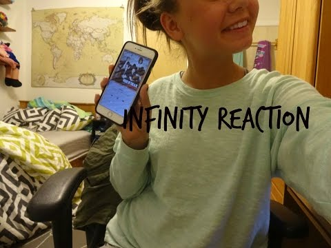 ONE DIRECTION'S INFINITY REACTION