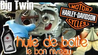 [Tuto] Le niveaux d'huile de boite des Big Twins Harley Davidson