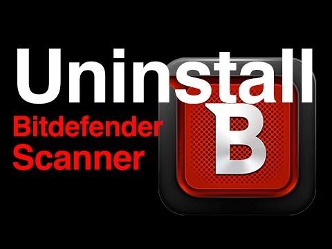 How to Uninstall Bitdefender Virus Scanner from Mac