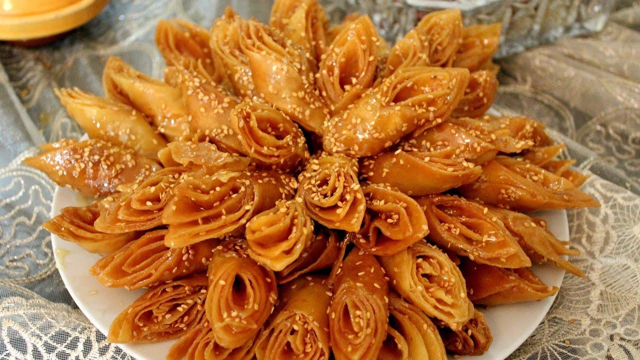 حلويات رمضان/ حلوى لسان الطير رائعة ...
