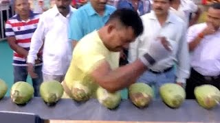 World Record Coconut Smasher