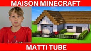 Minecraft Maison De Luxe Facile A Construire - Matti Tube