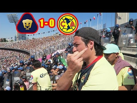 ¡DESPLUMADOS! Pumas 1-0 America