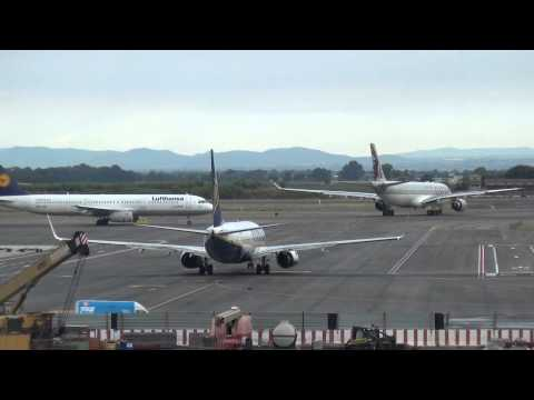 Amazing Planespotting at Rome-Fiumicino Airport 15.06.2014