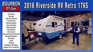 2016 Riverside RV Retro 176 Slide   Bourbon RV Center