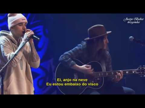 Justin Bieber   Christmas Love TraduçãoLegendado Live at PurposeInto