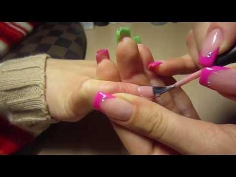 накладные ногти гель акрил