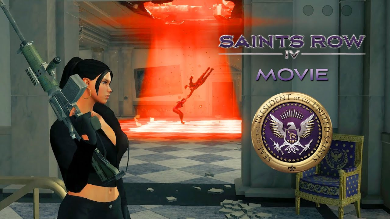 Download Saints Row 4 Movie: How Babe Became Alien Empress (Full Story)