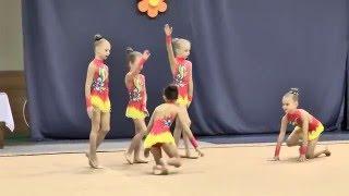 Невинномысск выступление девочек по худ. гимнастике 2008-2009г.   25 Марта 2016г.