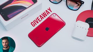 iPhone SE (2020) Unboxing: SE = SASTA EDITION! | *GIVEAWAY*