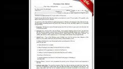 "Free Printable ""Promissory Note, Ballon"" Forms"