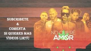 No Quiere Amor (Letra) - Lenny Tavárez Ft. Farruko, Bryan Myers, Lary Over, Lito Kirino (Remix)