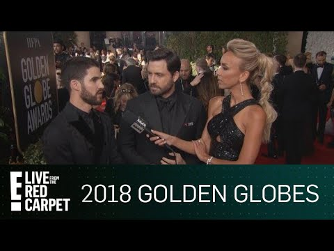 Darren Criss Holds Men Accountable at 2018 Golden Globes | E! Live from the Red Carpet
