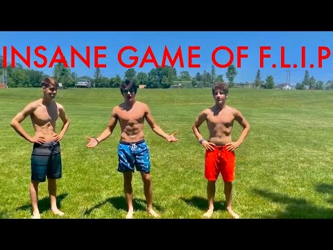 Game of F.L.I.P on Grass  