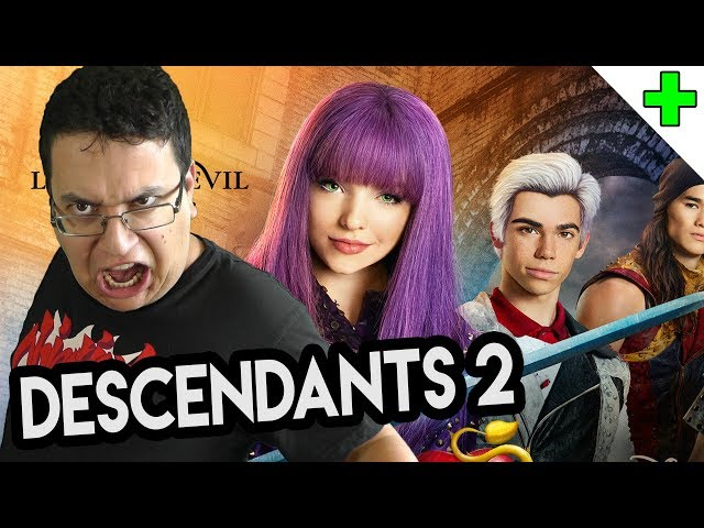 "MJ critique ""Disney Descendants 2"""