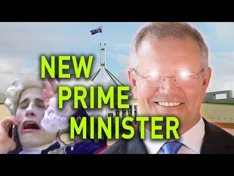 AUSTRALIA HAS A NEW PRIME MINISTER