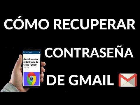Cómo Recuperar Contraseña de Google o Gmail