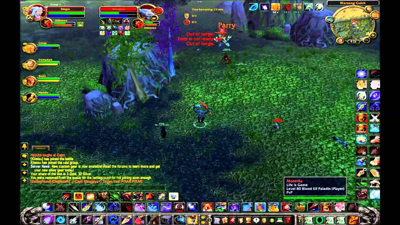 wow wotlk 3.3.5a