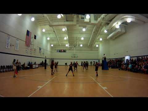 SECC girls jv volleyball playoff Northside Christian Academy vs Old Plank Christian Academy set 2