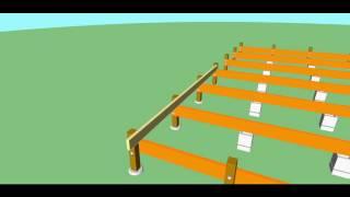 Cabin Founation Animation