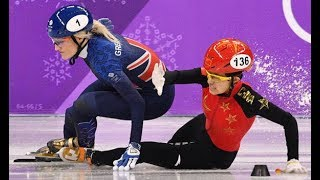 Winter Olympics: Elise Christie Taken To Hospital After Crash in 1500m Semi Final