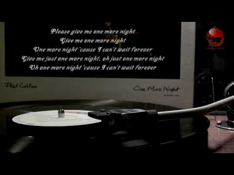 Phil Collins - One More Night (extended mix)