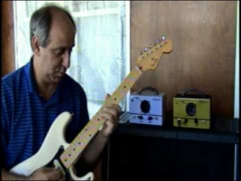 D-Lab 4 Watt Tube Guitar Practice Amp Minature Minimus II Demo