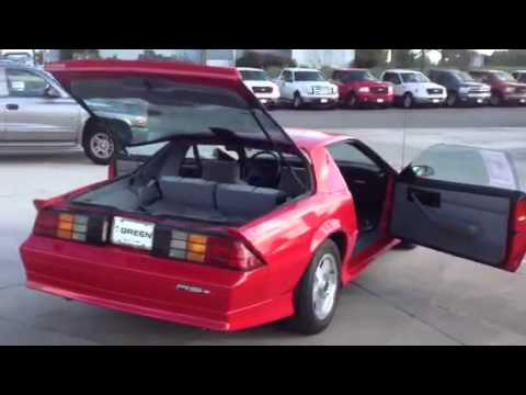 1992 Chevrolet Camaro 2D Convertible RS (V8) - YouTube