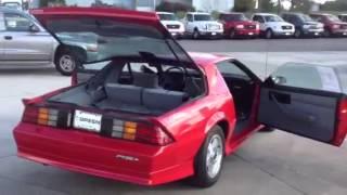 1992 Chevrolet Camaro 2D Convertible RS (V8)