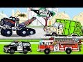 Garbage Truck Videos For Children l Tow Truck MAX  Firetruck, Garbage Truck l Garbage Trucks Rule 😀