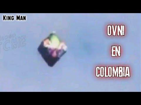 Ovni en forma de poliedro grabado en Colombia