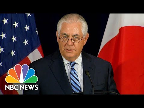 Rex Tillerson: Barcelona Van Attack Has Hallmarks Of Terrorism | NBC News