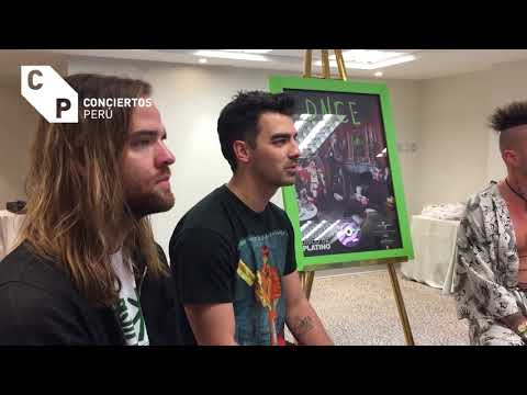 DNCE interview in Lima, Peru (2017)