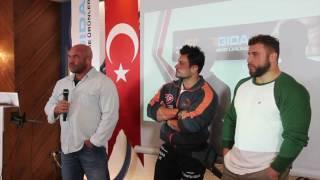 Bursa - Spor Gıda Etkinliği - Hardline Eğitim Semineri ve Serdar Aktolga