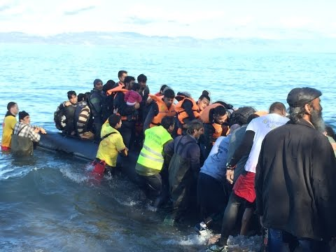 A Drop in the Ocean, Working with refugees on Lesvos Island January 2016