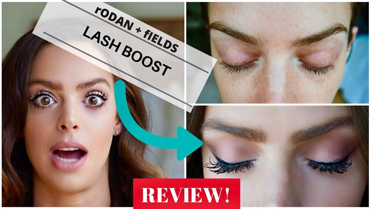 24cb31be497 Rodan + Fields Lash Boost Review! Plus Before + After Pics - YouTube