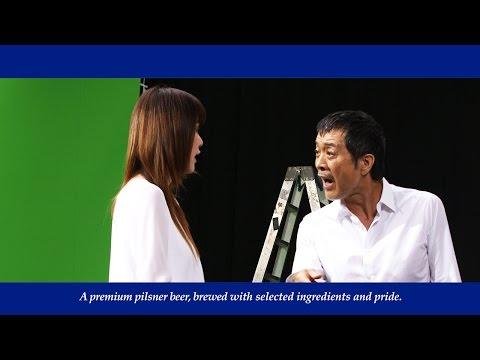 """矢沢永吉""""親子""""CMで初のデュエット 洋子「父はすごい」 サントリー『ザ・プレミアム・モルツ』新CM「父の日を最高にしよう」篇&メイキング映像"""