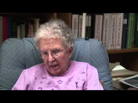 DAMARIS REYNOLDS Interview - Charles and Anne Lindbergh's Flight to Nanjing China 1931 Flood