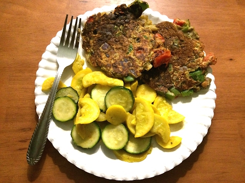 ALKALINE ELECTRIC VEGGIE FRITTERS | THE ELECTRIC CUPBOARD